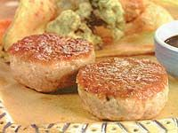 Receita Hambúrguer de Atum com Tempura de Legumes