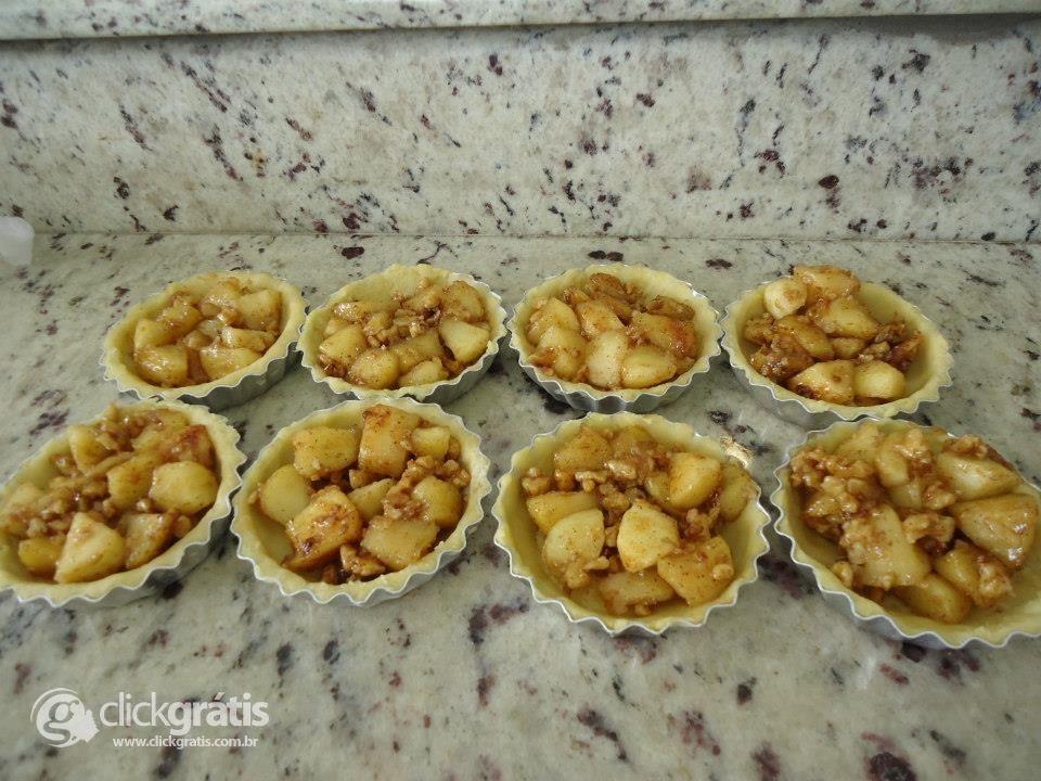 Passo 12 - Tortilha de Maçã com Nozes (com Fotos)