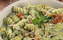 Receita Salada com Macarrão ao Pesto