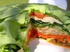 Receita Salada em Camadas