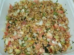 Receita Salada de Trigo