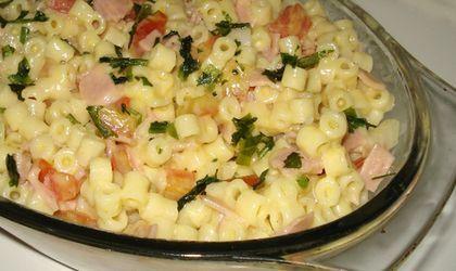 Receita Salada de Macarrão