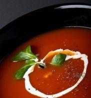 Receita Sopa de Tomate com Iogurte Natural