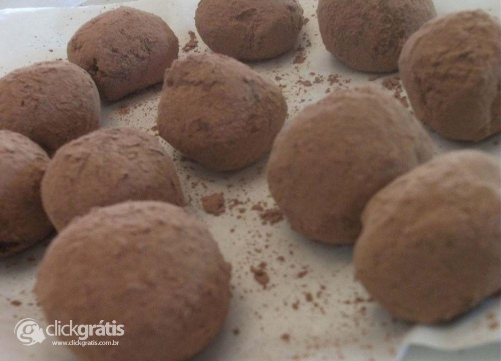 Passo 11 - Trufas de Chocolate