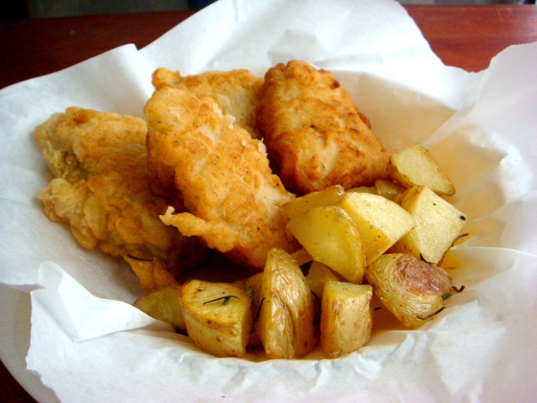 Receita Pescadinhas com Fritada de Batatas