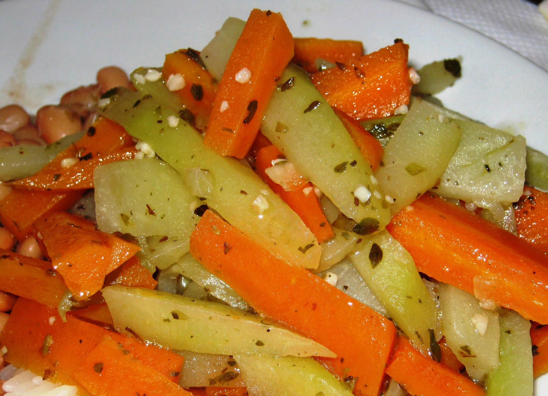 Receita Refogado de Legumes