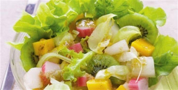 Receita Salada Tropical com Frutas