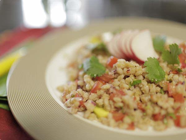 Receita Salada de Cevadinha