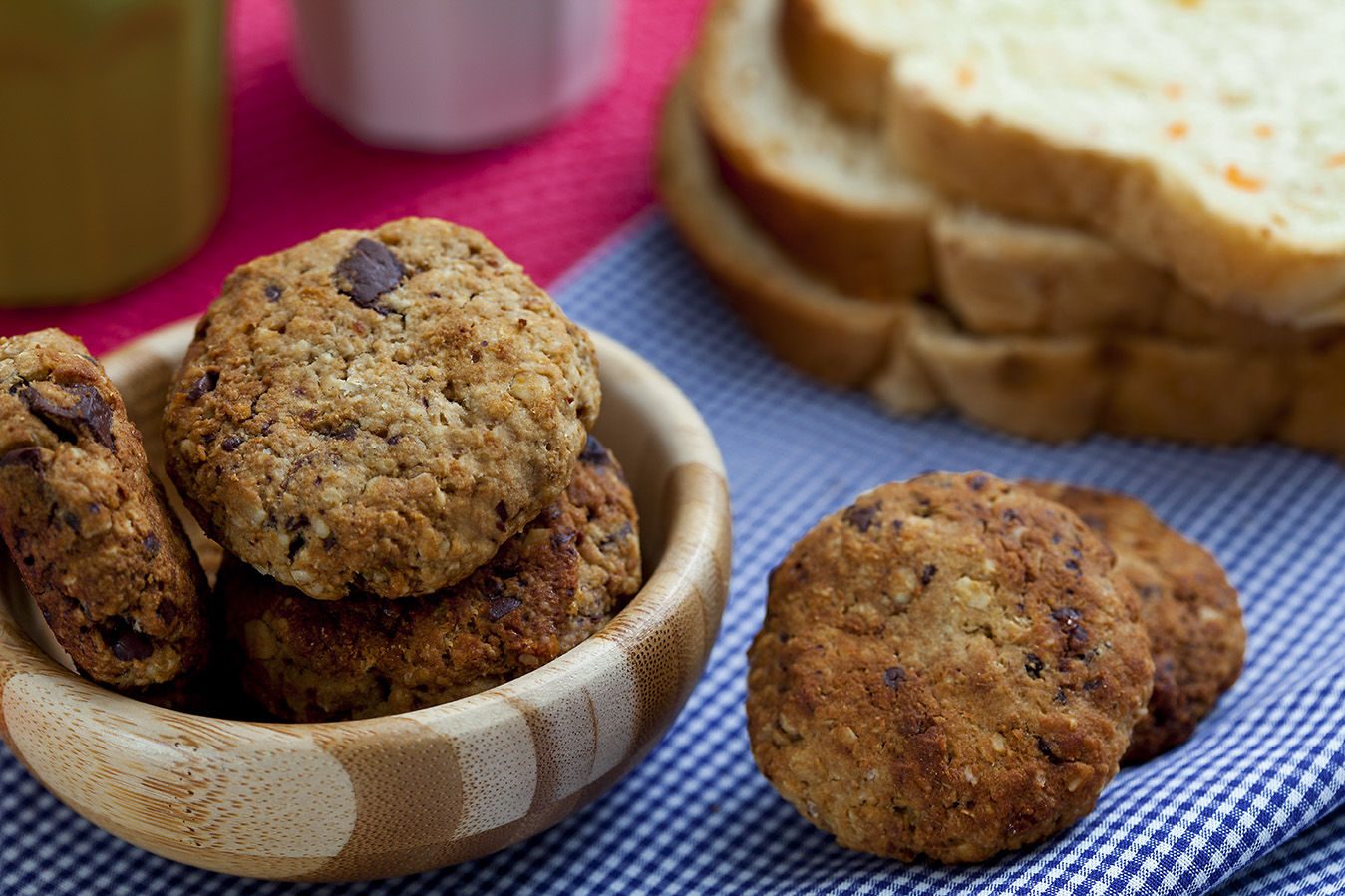 Receita Cookies de Pão Integral Wickbold