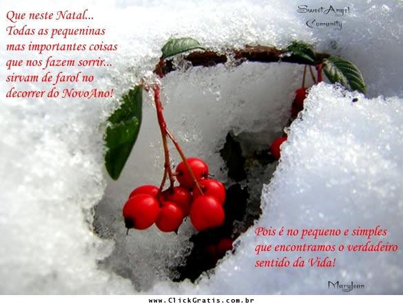Frases De Natal 17231 Recados De Frases De Natal Clickgrátis