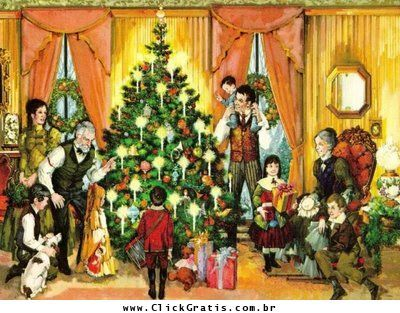 Recados Animados De Natal Familia Clickgratis