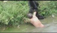 Homem invade área de animais e sofre ataque de macacos