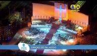 Papa reza o Pai Nosso e abençoa os fiéis em Copacabana