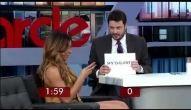 Danilo Gentili entrevista Sabrina Sato