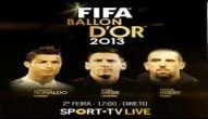 Cristiano Ronaldo Ganha Bola De Ouro 2013