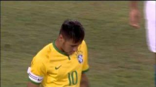 Inacreditável - Neymar perde gol feito