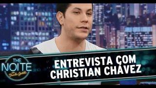 The Noite (06/10/14) - Entrevista com Christian Chavéz