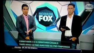 PVC desmaia no programa da Fox Sports