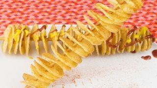 Como fazer batata frita no palito