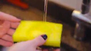 Como higienizar esponja de limpeza