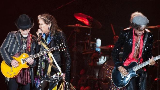 Aerosmith  show no Rock in Rio