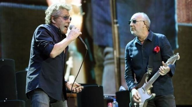 The Who show no Rock in Rio
