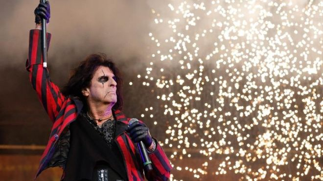 Alice Cooper show no Rock in Rio