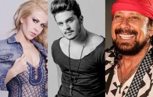 """5 cantores que """"agitaram"""" a web devido a quedas no palco"""