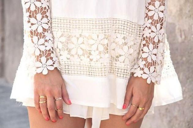 Procurando vestidos brancos para o ano novo? Veja essas opções incríveis