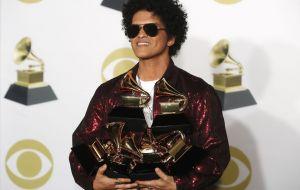 Confira os vencedores do Grammy 2018