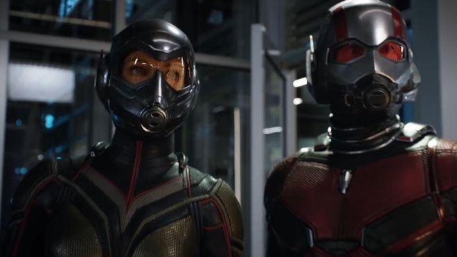'Homem-Formiga e a Vespa' chega a estréia de US $ 76 milhões de dólares