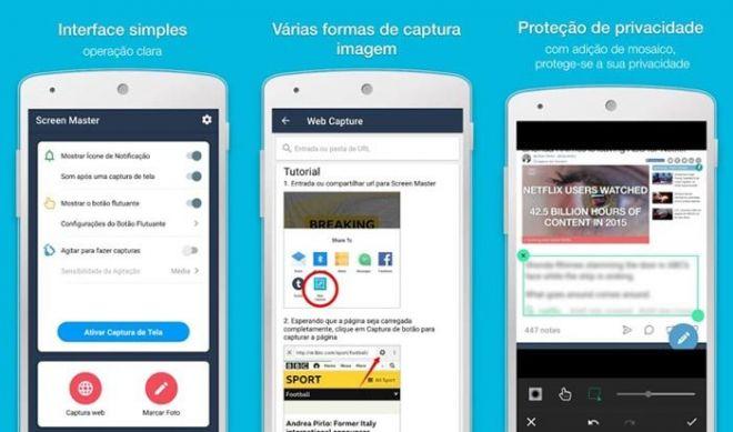 Confira melhores opções de apps para tirar print de tela