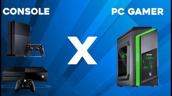 5 motivos para comprar um PC Gamer em vez de um console
