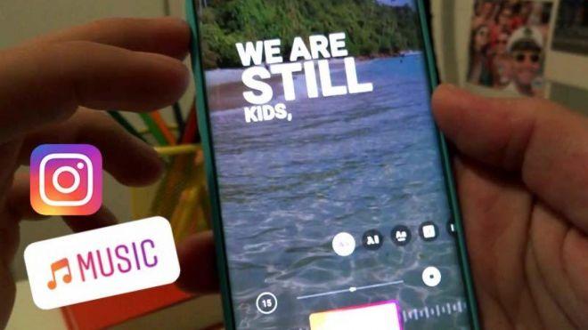 """Como usar nova função """"Músicas"""" nos stories do Instagram"""