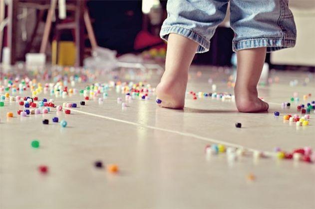 Saiba como limpar a bagunça que as crianças fazem no dia a dia