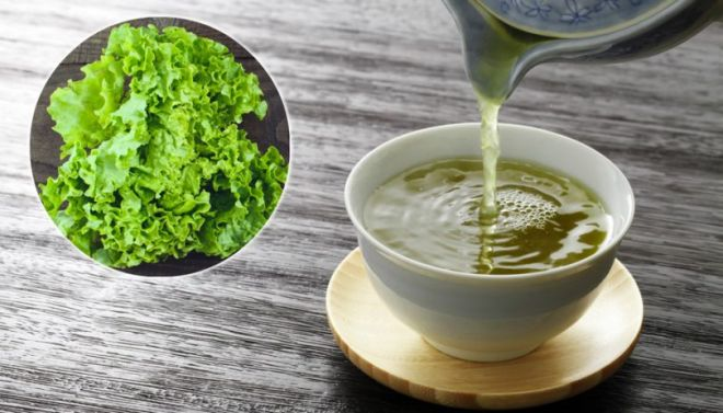Conheça os benefícios do chá de alface