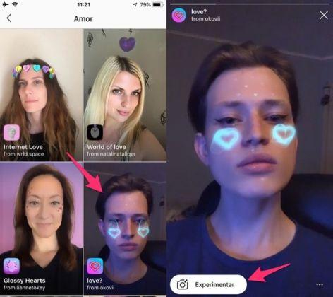 Filtros no Instagram: Confira algumas dicas para encontrar novos efeitos