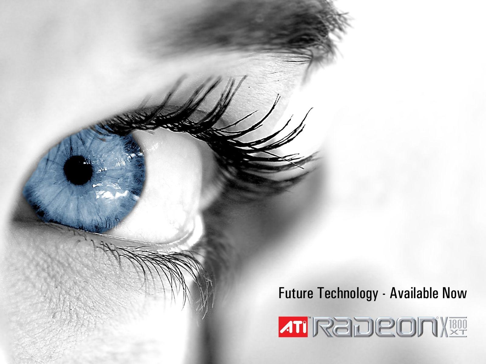 Blue Eye Radeon