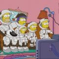 Simpsons Astronautas