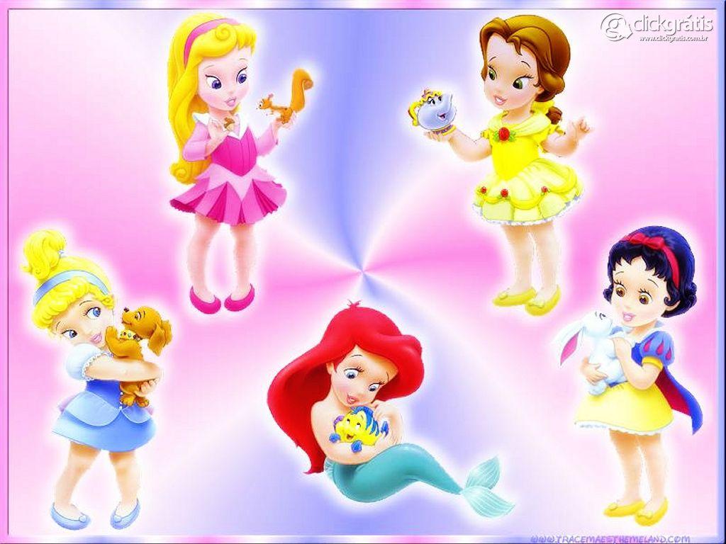 Princesas Disney - Bebês