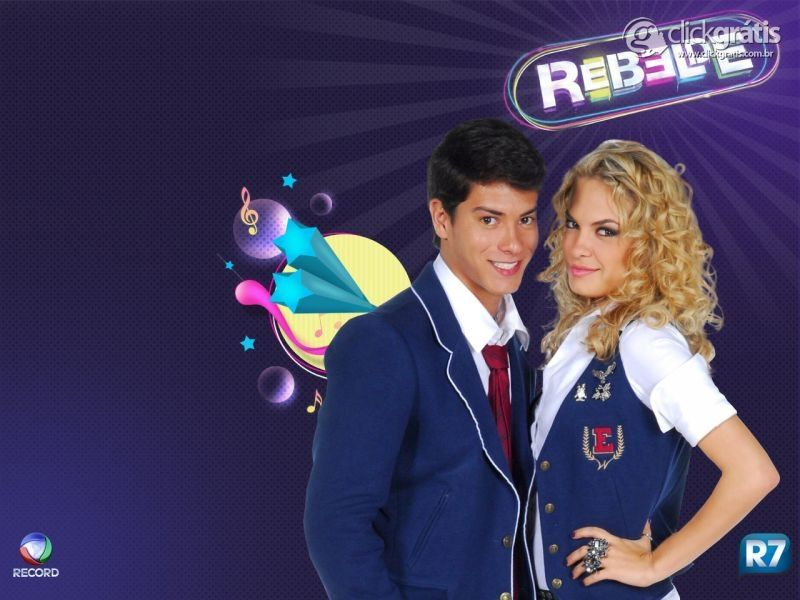 Casal novela Rebelde Record