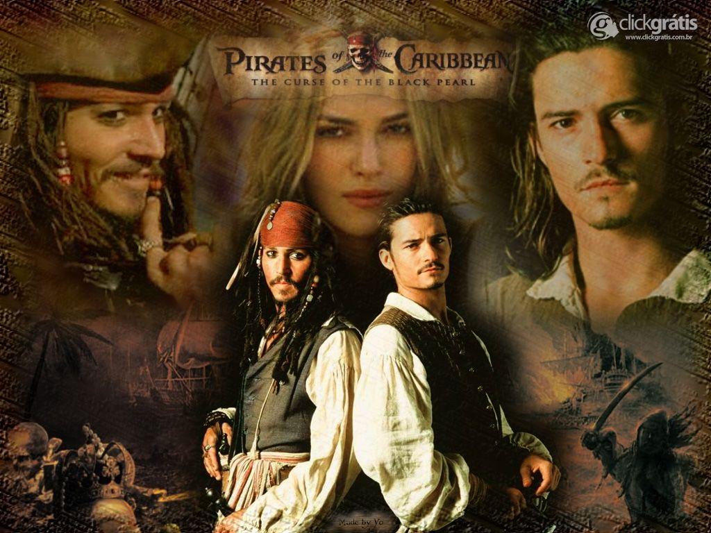 Piratas do Caribe O Filme