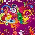Festa de cores