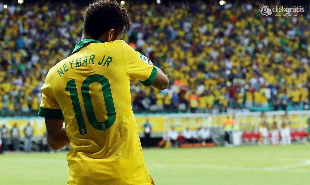 Neymar, o camisa 10!