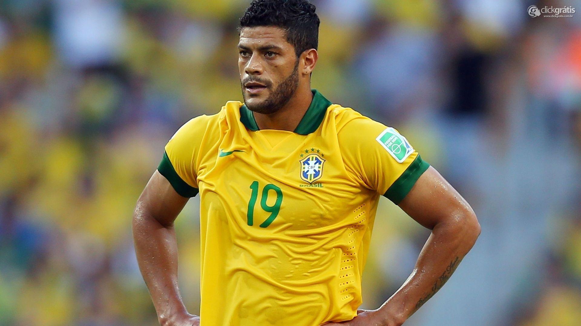 Hulk, atacante da Seleção Brasileira de Futebol