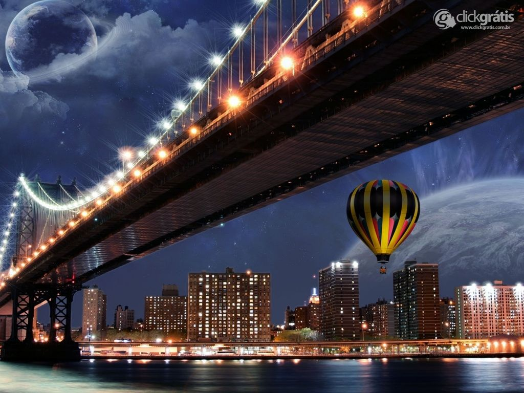 Balão na Cidade