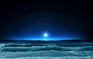 A Lua e as ondas