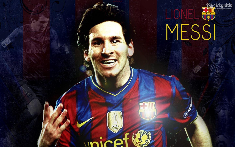 Lionel Messi, o craque do Barcelona
