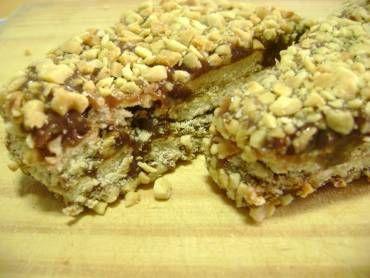 Palha italiana de amendoim