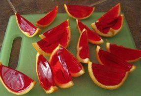 Gelatina na fruta